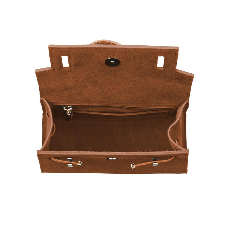 "Ava Duo Leather Gold 9"" - Camel"