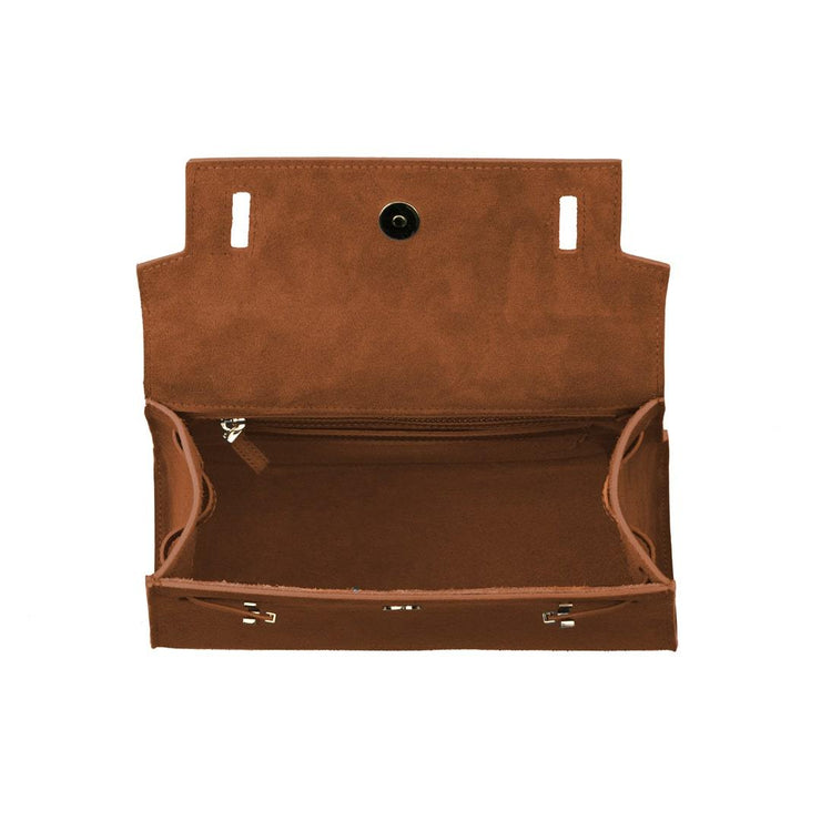 "Ava Duo Leather Gold 11"" - Camel"