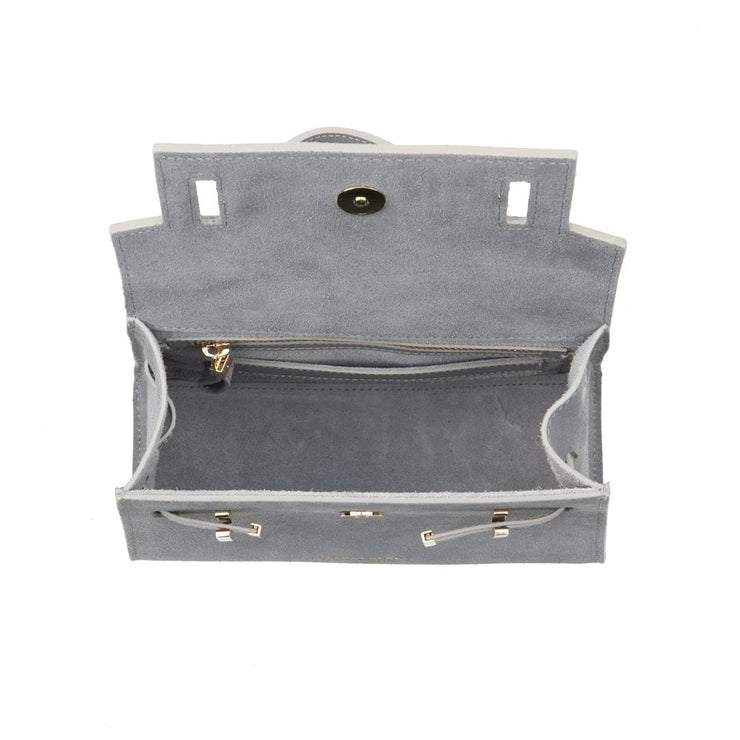 "Ava Duo Leather Gold 9"" - Grey"