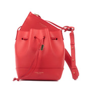 "Eliza Vitello 9"" - Coral Red/Black"