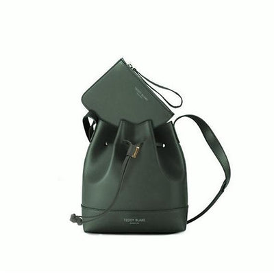 "Eliza Vitello 9"" - Dark Green&Rose"