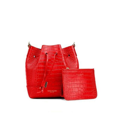 "Eliza Croco 9"" - Red"
