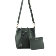 "Eliza Duo Croco 9"" - Dark Green"