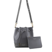 "Eliza Duo Croco 9"" - Dark Grey"
