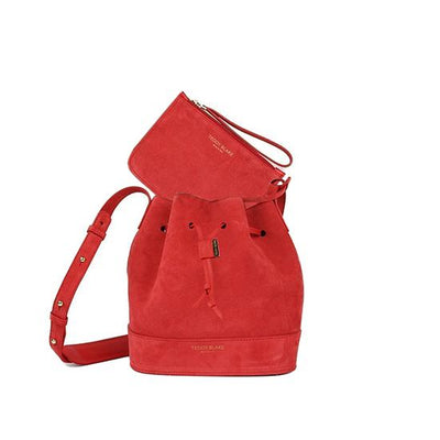 "Eliza Suede 9"" - Red"
