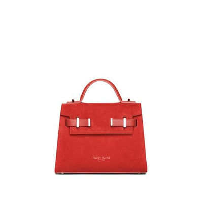 "Ava Duo Leather Gold 9"" - Red"