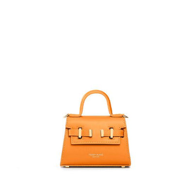 "Ava Vitello Gold 6"" - Orange"