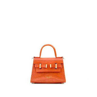 "Ava Croco Gold 6"" - Orange"