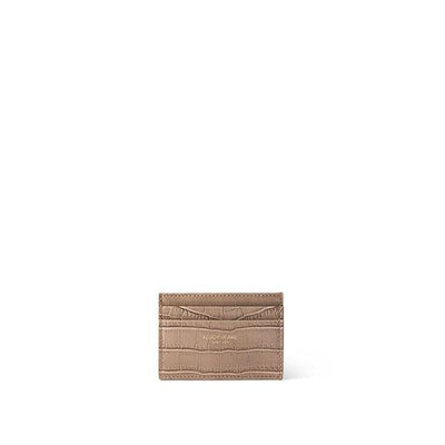 TB Cardholder Croco - Light Beige