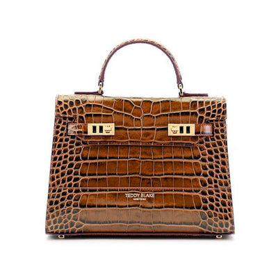 "Kim Croco 11"" - Brown"