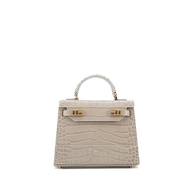 "Kim Croco 9"" - Light Grey"