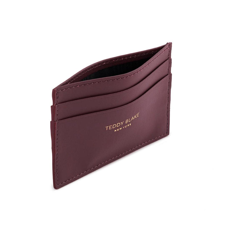 TB Cardholder Vitello - Bordeaux