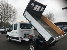 2016 / 66 FORD TRANSIT 350 CREWCAB TIPPER 125 psi ONLY 24000 MILES
