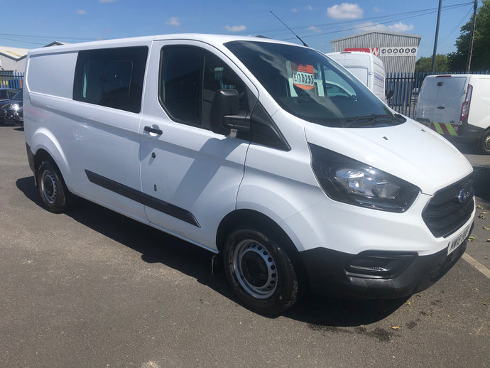NEW SHAPE FORD TRANSIT CREW VAN