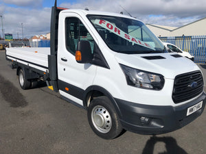 2017 FORD TRANSIT 350 ECF 14ft DROPSIDE EURO 6