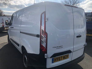 67 REG FORD TRANSIT CUSTOM MEDIUM VAN