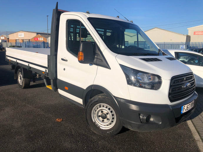 2017/67 FORD TRANSIT 12ft DROPSIDE