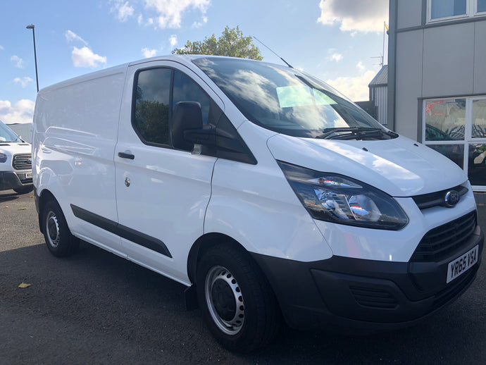 FORD TRANSIT CUSTOM 65/REG MEDIUM VAN