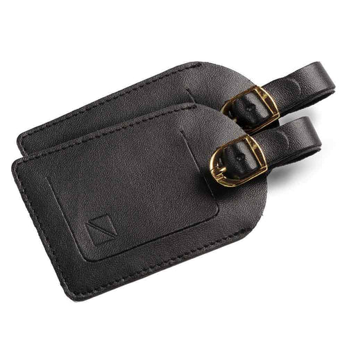 Leatherette Luggage Name Tag - Pack of 2