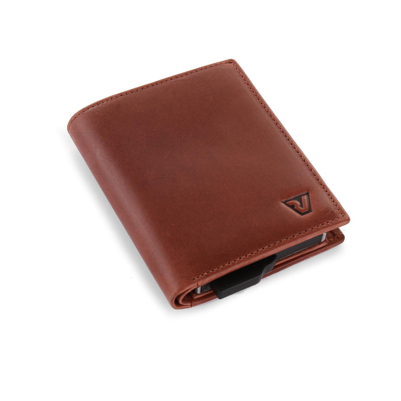 IRON CREDIT CARD HOLDER WITH CASH HOLDER