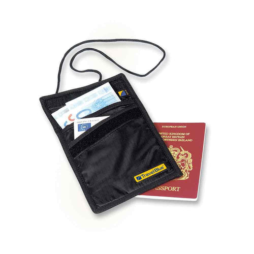 RFID Blocking Slimline Neck Wallet