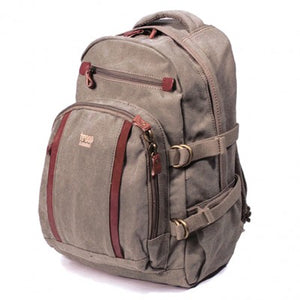 CLASSIC LARGE CANVAS LAPTOP BACKPACK