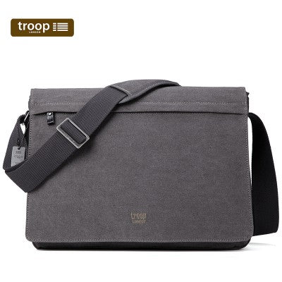 CLASSIC CANVAS LAPTOP LARGE MESSENGER BAG