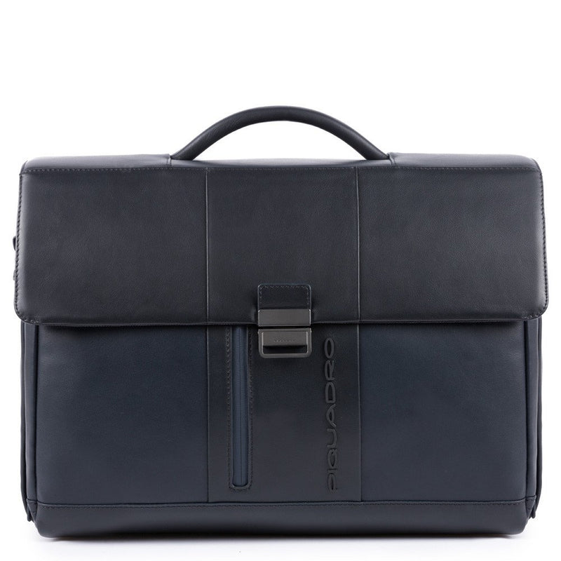 "Computer briefcase with iPad®10,5""/iPad 9,7"" compartment, customizable tag and pocket for CONNEQU"