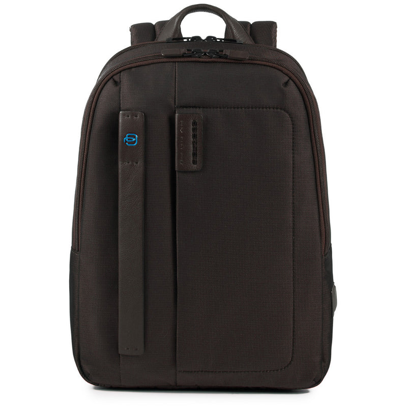 Small size, computer backpack with iPad® compartment and pocket for bottle or umbrella