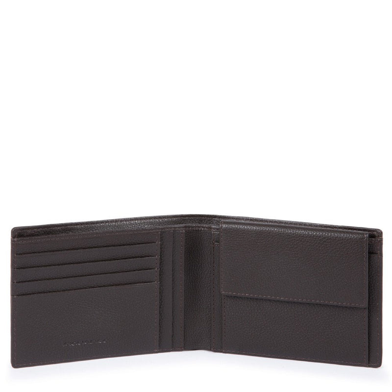 Men's wallet with coin pouch
