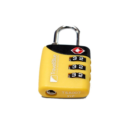 TSA 3 Dial Combination Lock