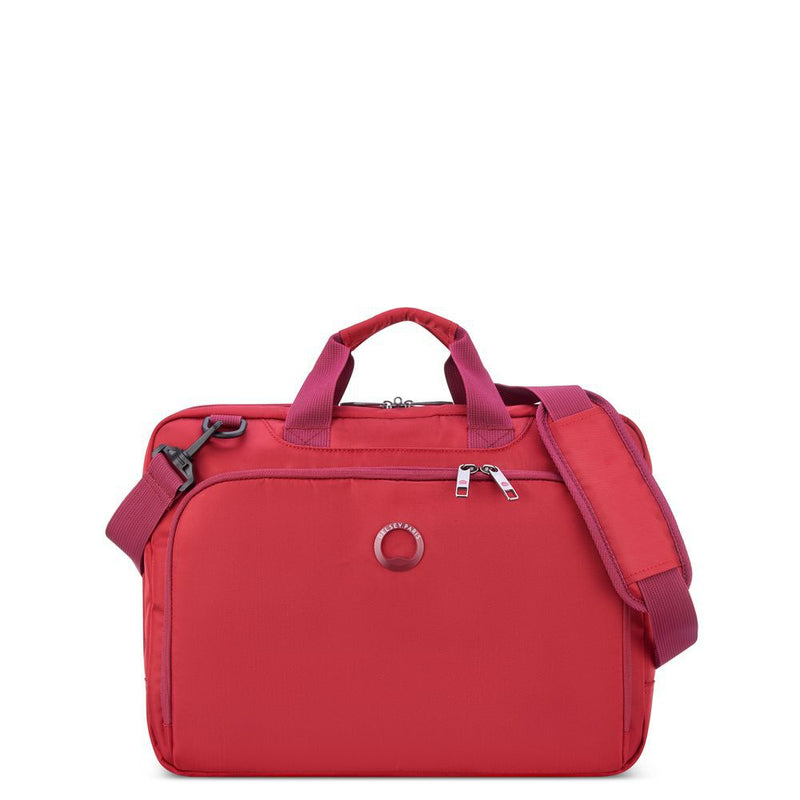 ESPLANADE 2-CPT LADIES SATCHEL - PC PROTECTION 15.6""