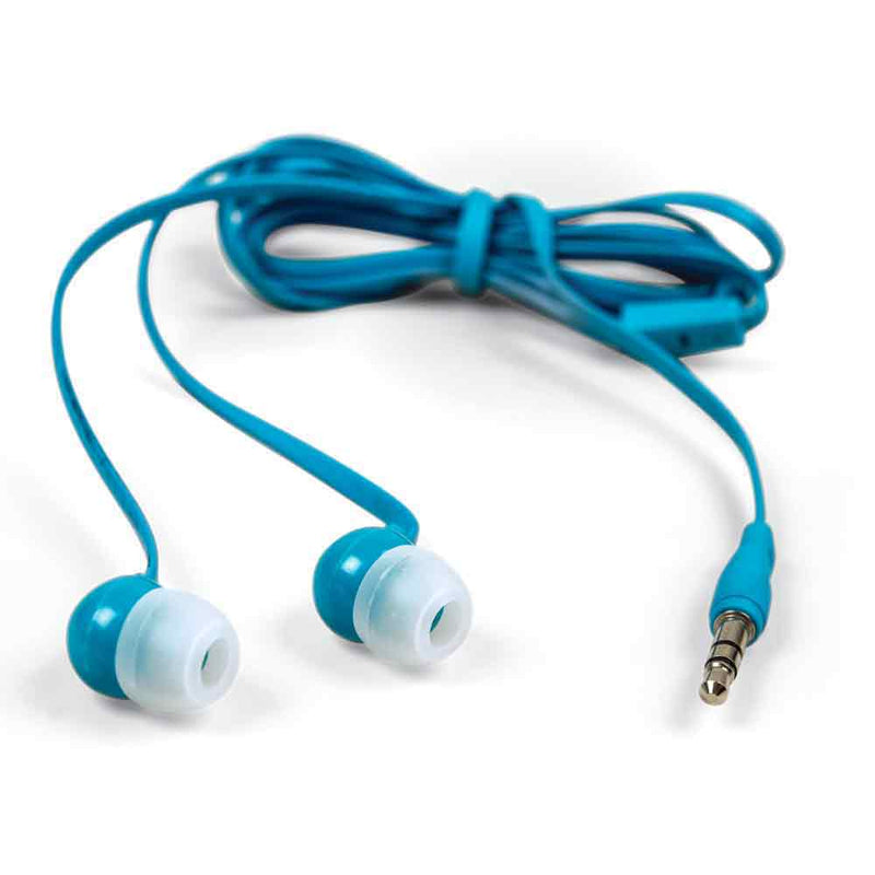 Earphones with Tangle Free Cable
