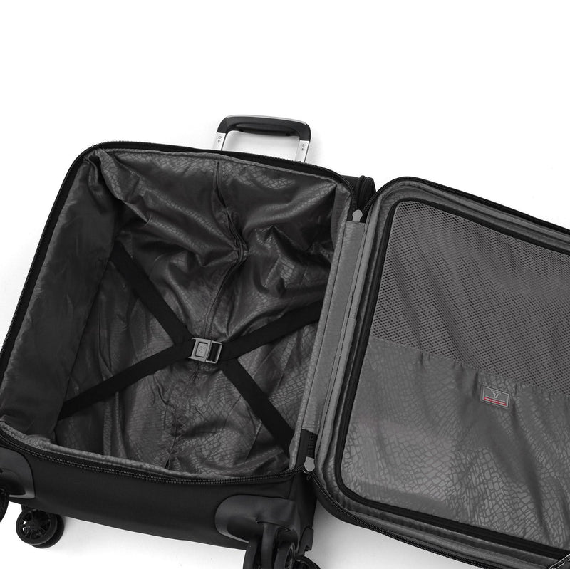 SIDETRACK CABIN TROLLEY WITH EXTERNAL USB PORT 55cm