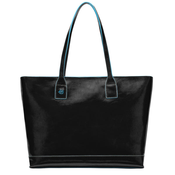 Blue Square Shopping Bag