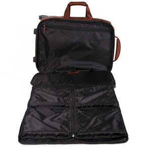 "10.5""/9.7"" laptop and iPad® cabin trolley, USB and micro-USB plate, CONNEQU avail. Black Square"