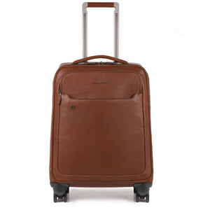 Laptop and iPad® slim 4-wheel cabin trolley, USB and micro-USB plate, CONNEQU avail. Collezione BagMotic
