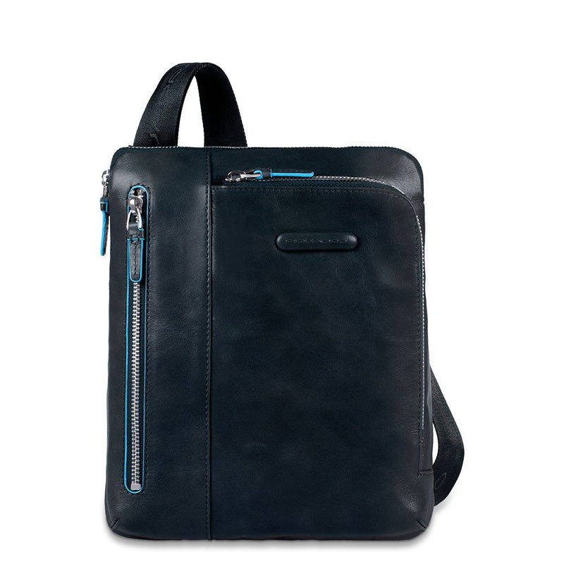 iPad/iPad®Air shoulder pocket bag with Blue Square