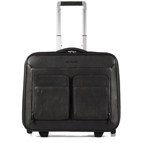 Wheeled computer brief with iPad® compartment,