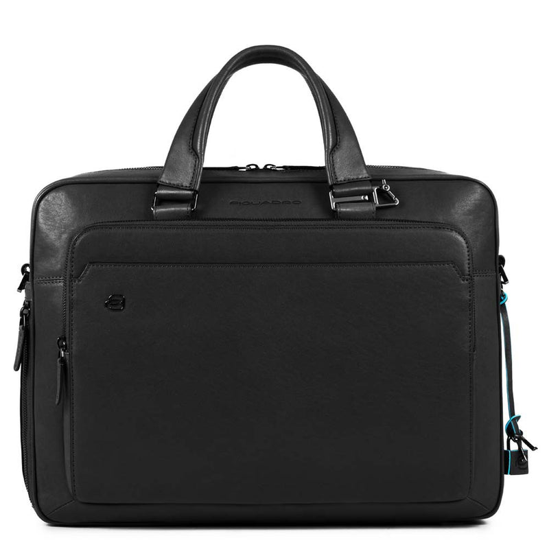 "Small 10.5""/9.7"" laptop and iPad® briefcase Black Square"