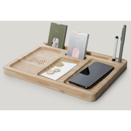 BAMBOO DOCK Double wireless charger