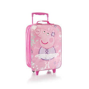 Peppa Pig Pink Kids Luggage