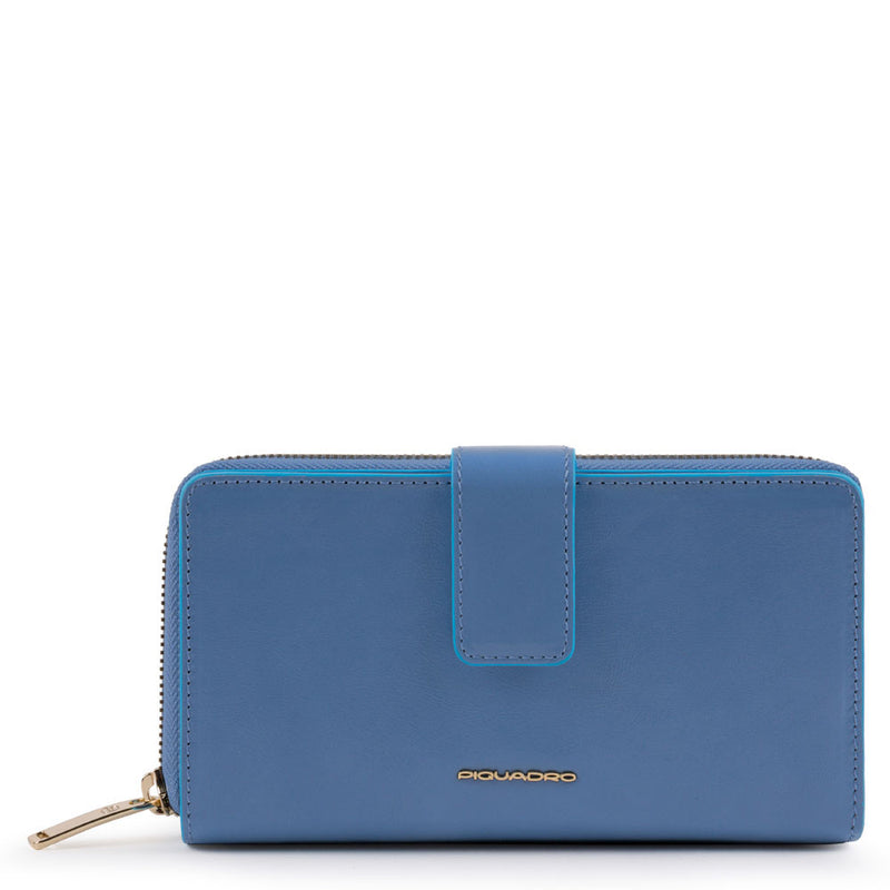 Blue Square Purse and Phone Holder