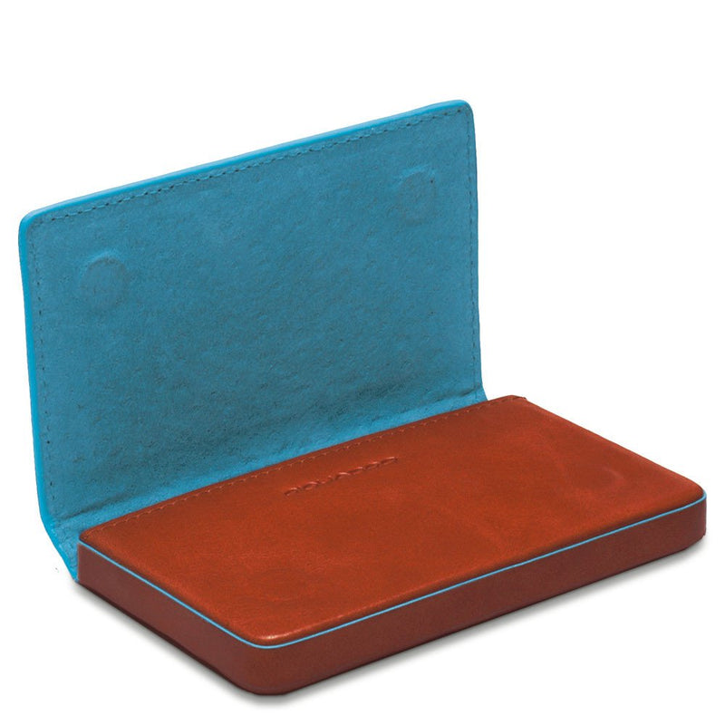 Business card holder Blue Square