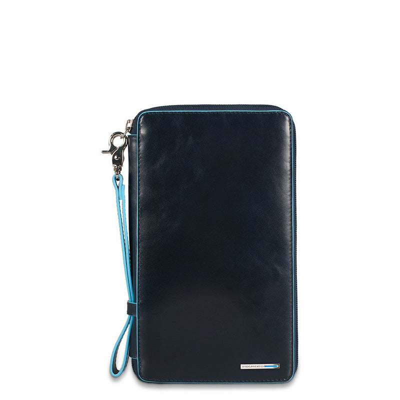 Travel document holder with credit Black Square