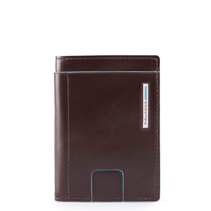 Credit card case Blue Square