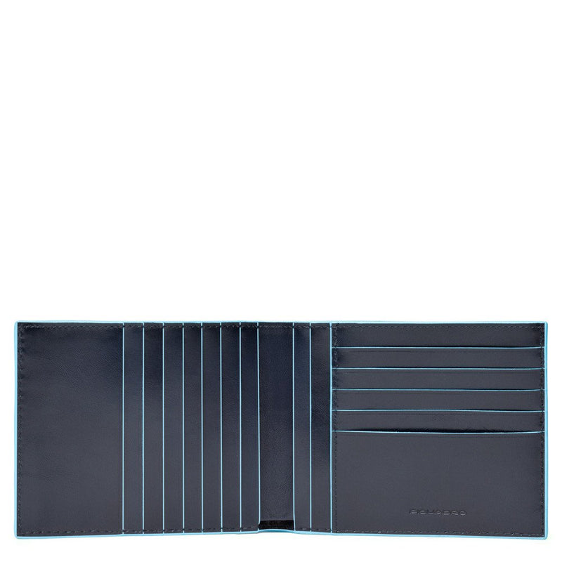 Men's wallet Blue Square
