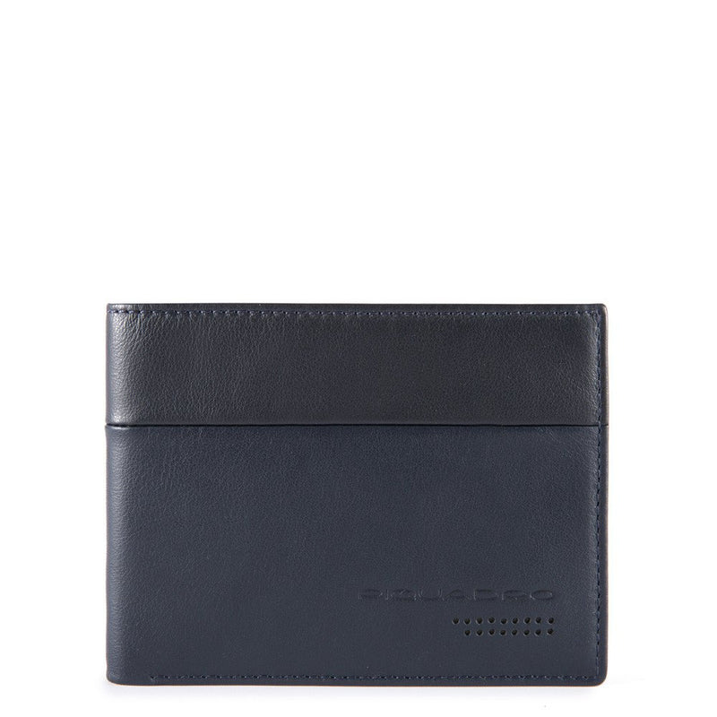 Men's wallet with twelve credit card slots and RFID anti-fraud protection