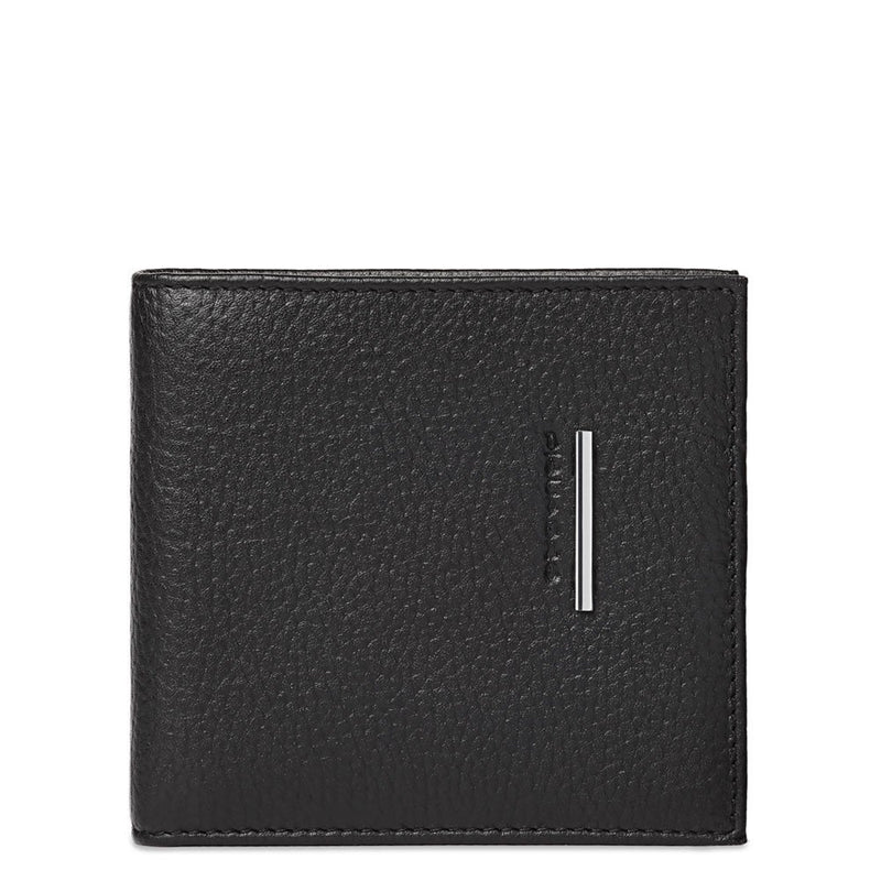 Men's wallet with document, credit card and banknote facility