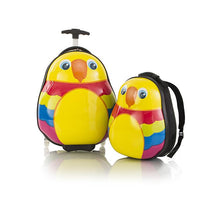 Load image into Gallery viewer, Travel Tots Parrot - Kids Luggage & Backpack Set